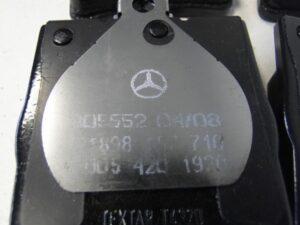 MERCEDES E W210 CLK W208 KLOCKI HAMULCOWE POD VIN