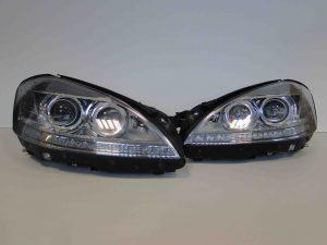 MERCEDES S KLASA W221 LIFT LAMPY KSENON NIGHT VISION