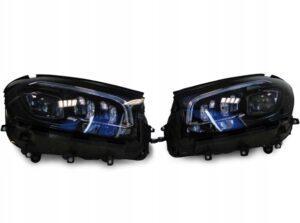 MERCEDES GLS X167 167 LAMPY LAMPA MULTIBEAM LED KOMPLET