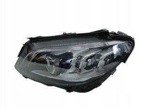 MERCEDES C W205 205 LIFT LAMPA LEWA MULTIBEAM LED