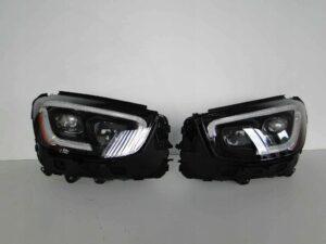 MERCEDES GLC X253 253 LIFT LAMPA MULTIBEAM LED USA